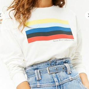 F21 Sunset Blvd California 1996 sweatshirt